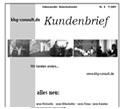 Haemisch Unternehmensberatung Kundenbrief 07/2004